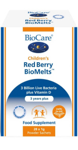 BioCare - <br>Children's Red Berry BioMelts