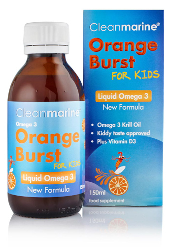 how to give krill oil to kids