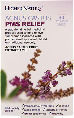 Higher Nature - <br>Agnus Castus PMS Relief