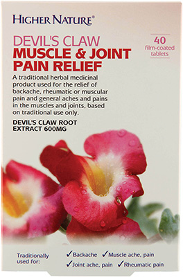 Higher Nature - <br>Devil's Claw Muscle & Joint Pain Relief