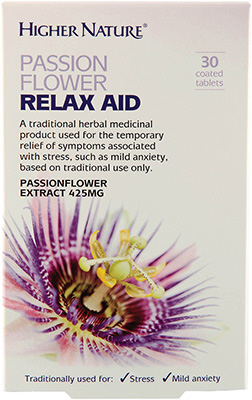 Higher Nature - <br>Passionflower Relax Aid