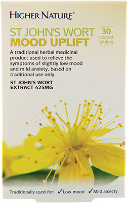 Higher Nature - <br>St John's Wort Mood Uplift