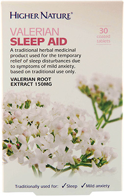 Higher Nature - <br>Valerian Sleep Aid
