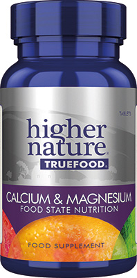 Higher Nature - <br>True Food Calcium & Magnesium