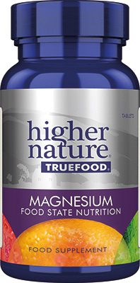 Higher Nature - <br>True Food Magnesium
