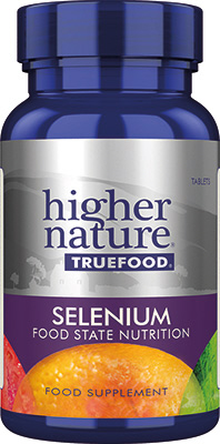 Higher Nature - <br>True Food Selenium