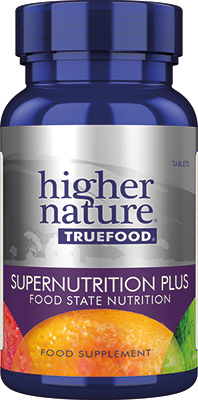 Higher Nature - <br>True Food Supernutrition Plus