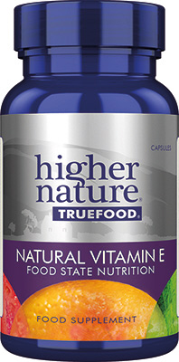 Higher Nature - <br>True Food Natural Vitamin E