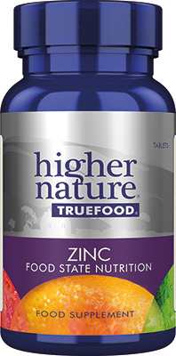 Higher Nature - <br>True Food Zinc