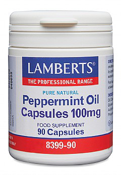 Lamberts - <br>Peppermint Oil Capsules 100mg