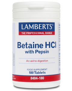 Lamberts - <br>Betaine HCl with Pepsin