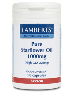 Lamberts - <br>Pure Starflower Oil 1000mg