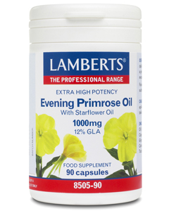 Lamberts - <br>Extra High Potency Evening Primrose Oil with Starflower Oil