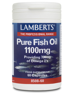 Lamberts - <br>Pure Fish Oil 1100mg