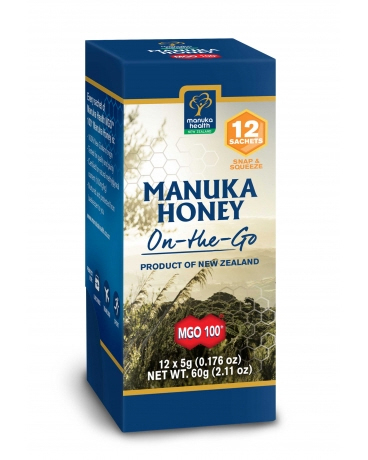 Manuka Health - <br>MGO™ 100+ Pure Manuka Honey - Snap Packs 5g