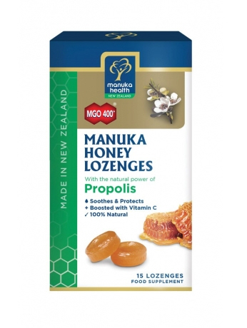 Manuka Health - <br>MGO™ 400+ Manuka Honey Lozenges with Propolis