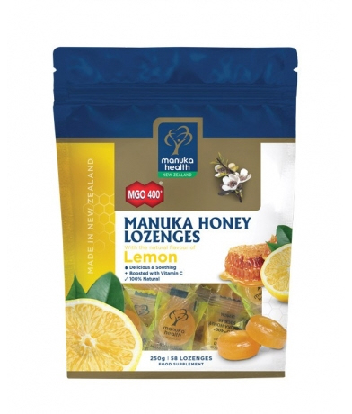 Manuka Health - <br>MGO™ 400+ Manuka Honey Lozenges with Lemon