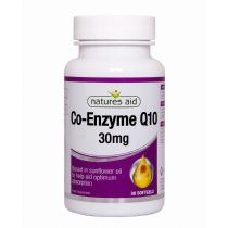 Natures Aid - <br>Co-Q-10 30mg