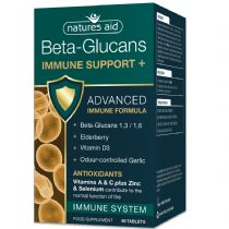 Natures Aid - <br>Beta Glucans Immune Support +