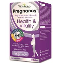 Natures Aid - <br>Pregnancy Multi-Vitamins & Minerals