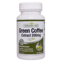 Natures Aid - <br>Green Coffee Extract 200mg (Svetol)