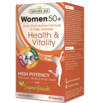 Natures Aid - <br>Women 50+ Multi-Vitamins & Minerals