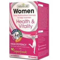 Natures Aid - <br>Women's Multi-Vitamins & Minerals