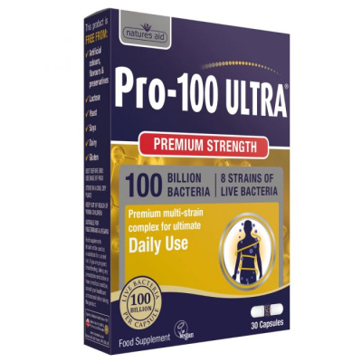 Natures Aid - <br>Pro-100 ULTRA (100 Billion Bacteria)