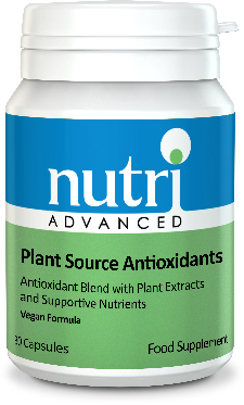 Nutri Metagenics - <br>Plant Source Antioxidants