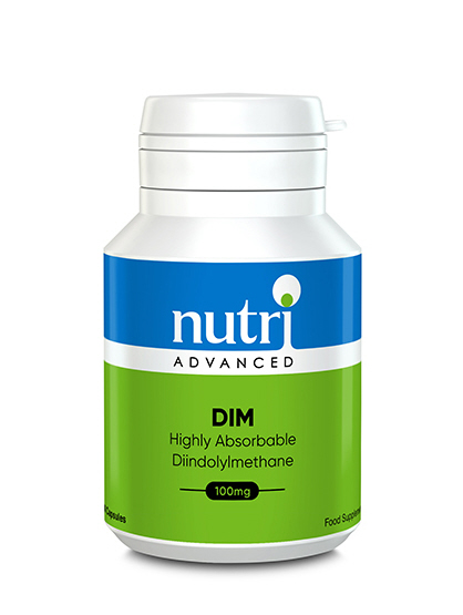 Nutri Advanced - <br>D.I.M. 100mg (DIM - Diindolylmethane)