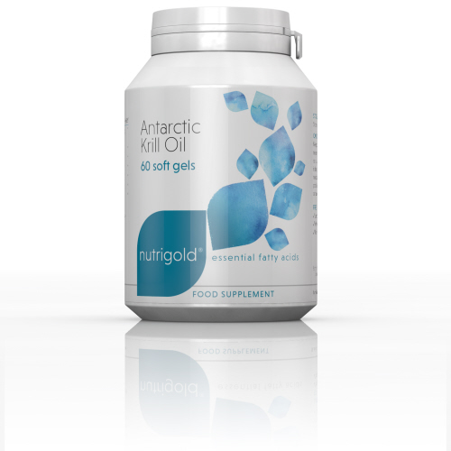 NutriGold - <br>Antarctic Krill Oil 500mg