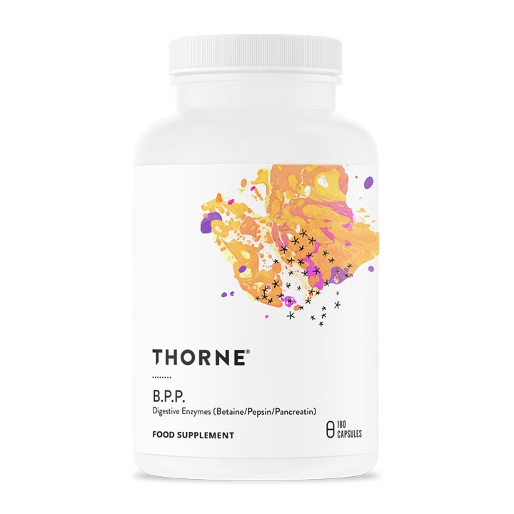 Thorne Research - <br>B. P. P. (Betaine / Pancreatin / Pepsin)