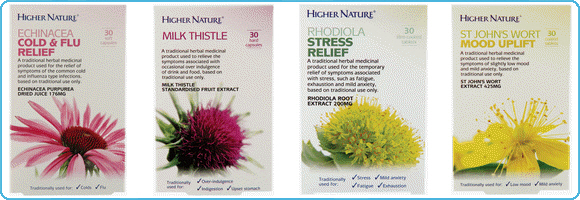 Higher Nature Herbal Remedies
