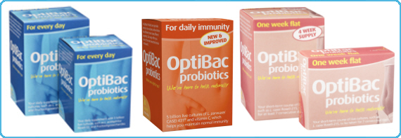 OptiBac Probiotics - For daily immunity, For every day & One week flat
